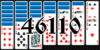 Solitaire №46110