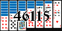 Solitaire №46115