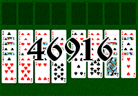 Solitaire №46916