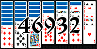 Solitaire №46932