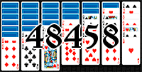 Solitaire №48458