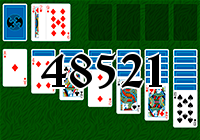 Solitaire №48521