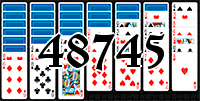 Solitaire №48745
