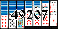 Solitaire №49207