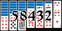 Solitaire №58432
