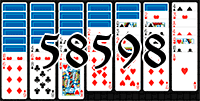 Solitaire №58598