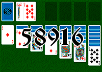 Solitaire №58916