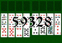 Solitaire №59328