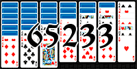 Solitaire №65233