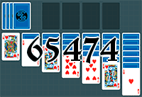 Solitaire №65474