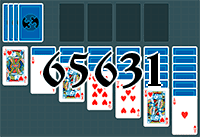Solitaire №65631