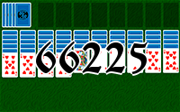Solitaire №66225