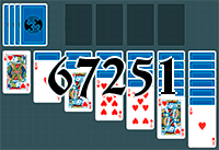 Solitaire №67251