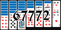 Solitaire №67772
