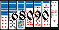 Solitaire №68090
