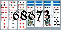 Solitaire №68673