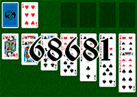 Solitaire №68681
