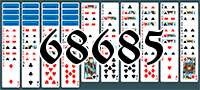 Solitaire №68685