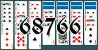 Solitaire №68766