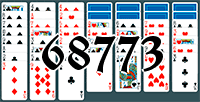 Solitaire №68773