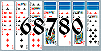 Solitaire №68780