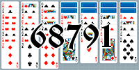 Solitaire №68791
