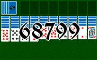 Solitaire №68799