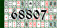 Solitaire №68807