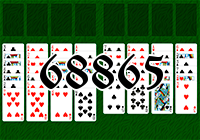 Solitaire №68865