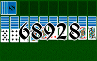 Solitaire №68928
