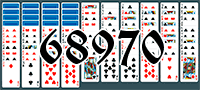 Solitaire №68970