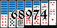 Solitaire №68974