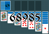 Solitaire №68985