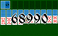 Solitaire №68990
