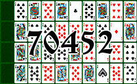 Solitaire №70452