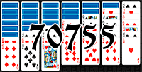 Solitaire №70755