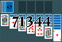 Solitaire №71344