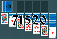 Solitaire №71520
