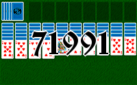 Solitaire №71991