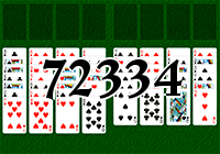 Solitaire №72334