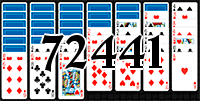 Solitaire №72441