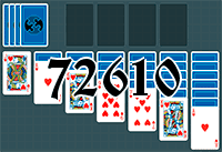 Solitaire №72610