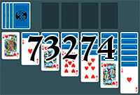 Solitaire №73274
