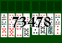 Solitaire №73478