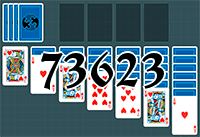 Solitaire №73623
