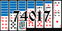Solitaire №74017
