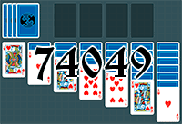 Solitaire №74049