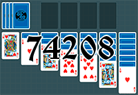 Solitaire №74208