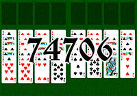 Solitaire №74706