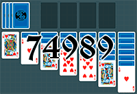 Solitaire №74989